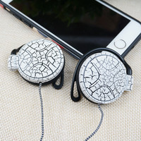 2016 NEW Headphones 3.5mm Universal Earphone EarHook For MP3 Player Computer Mobile phone Headset clear voice Nylon line