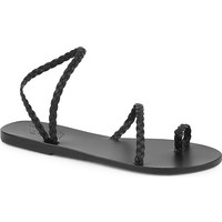 ANCIENT GREEK SANDALS - Eleftheria braided leather sandals | Selfridges.com