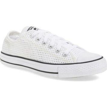 DCCK8NT converse chuck taylor all star ox perforated canvas sneaker women nordstrom