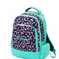 MONOGRAMMED BACKPACK and LUNCHBOX