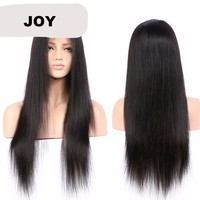 Silky Straight Brazilian Full Lace Human Hair Wigs
