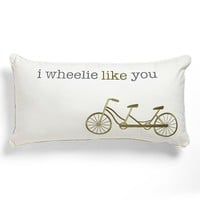 Levtex 'I Wheelie Like You' Pillow