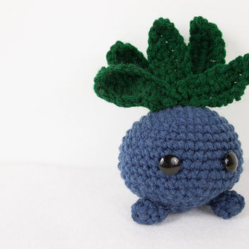 Crochet Pokemon Inspired Oddish Amigurumi