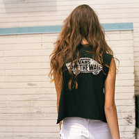 Authentic Skateboard Cropped Muscle Tee | Shop at Vans