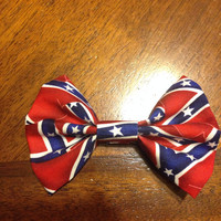Rebel Flag Hairbow