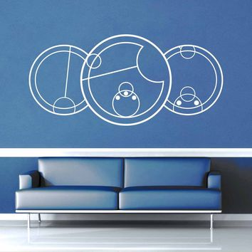 I Love You - Gallifreyan - Doctor Who Quote - Wall Decal$8.95