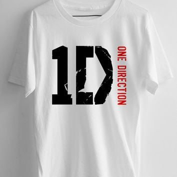 One Direction 1D logo T-shirt Men, women and Youth