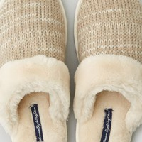 AEO Women's Cozy Boot Slipper (Taupe)