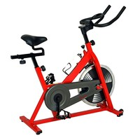 Sunny Health & Fitness Indoor Cycling Bike (Red)