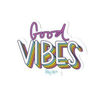 Pura Vida Good Vibes Sticker Decal