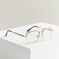 Metal Aviator Readers | Urban Outfitters