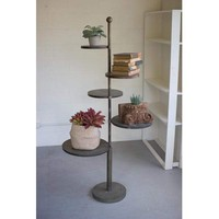 5 Tiered Metal Display Stand