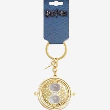 Licensed cool Harry Potter Hermione's Time Turner Gold Tone Spinning Key chain Key Chain NWT