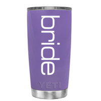 YETI Bride on Lavender 20 oz Tumbler