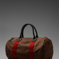 Rafe Boston Duffle Bag in Brown