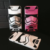 Stylish On Sale Cute Hot Sale Iphone 6/6s Hot Deal Starwars Iphone Strong Character Creative Couple Phone Case [4919917188]