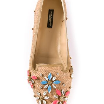 Dolce & Gabbana Jewel Embellished Pump