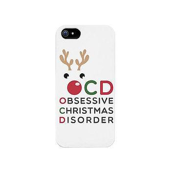 OCD Rudolph Cute Phone Case Great Christmas Gift Idea For X-mas Phone Cover