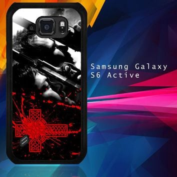 Boondock Saint Movies Series Z0346 Samsung Galaxy S6 Active  Case