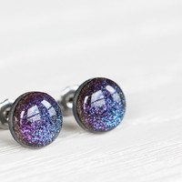 Cosmic Shimmer Post Earrings - Hypoallergenic Studs