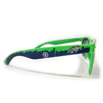 Seahawk Seattle Skyline Sunglasses