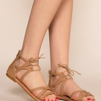 Libby Sandals - Tan