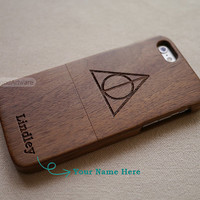 Harry Potter iPhone 5 case, Wood iPhone 6 case, iPhone 5S case, Wood iPhone 5C, Harry Potter iPhone 4s case, Custom Wood iPhone case - B4