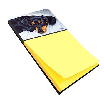 Black and Tan Doxie Dachshund Sticky Note Holder AMB1079SN