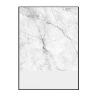 marble and grey print / two sizes