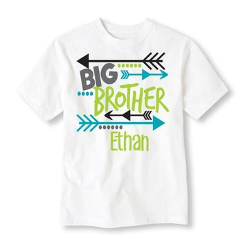 Big Brother Arrows Personalized Tee Shirt