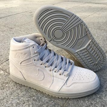 "Air Jordan 1 Retro High ""Grey Suede"" 332550-031 41-47"