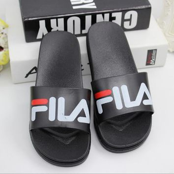 FILA Casual Fashion Women Floral Print Sandal Slipper Shoes One-nice™