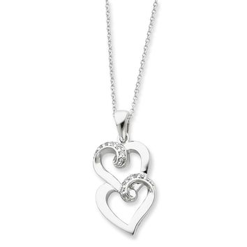 Sterling Silver To My Sister Sentimental Expressions Necklace