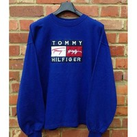 Boys & Men Tommy Hilfiger Women Men Hot Hoodie Cute Sweater