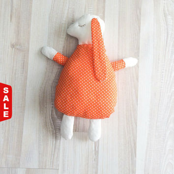 Sale 50% Toy bunny, soft bunny, bunny toy, pillow bunny, kids pillow, animal pillow, toys bunny, kids bunny, baby pillows, gift for baby