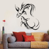 Vinyl Wall Decal Koi Karp Asian Japanese Fish Buddhism Stickers Unique Gift (1876ig)
