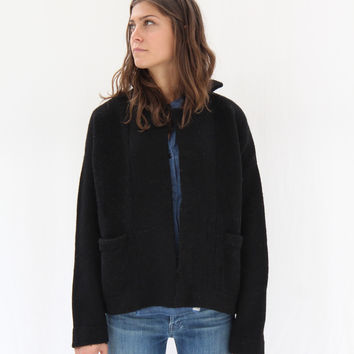 Lauren Manoogian Pea Coat Black