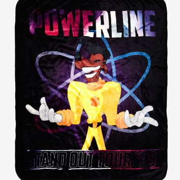 Disney A Goofy Movie Powerline Stand Out Tour Throw Blanket