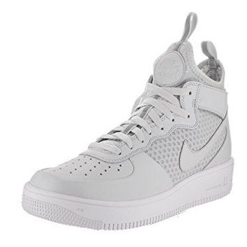Nike Men's Air Force 1 Ultraforce Mid Basketball Shoe  air force ones nike