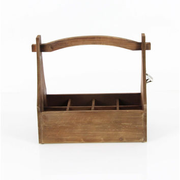 Wooden Crate Wine Holder