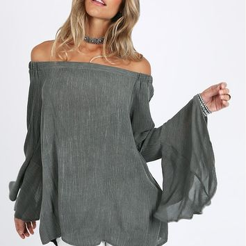 Love Street Off-Shoulder Top | Threadsence
