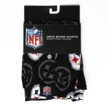 NFL Pittsburgh Steelers Men's Boxer Shorts - 3 Pack [Small]