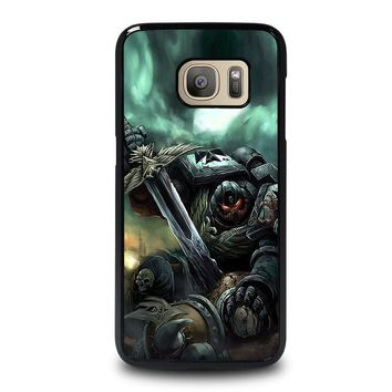 warhammer black templar samsung galaxy s7 case cover  number 1