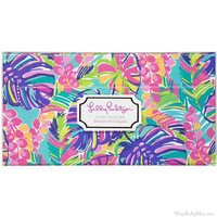 Lilly Pulitzer Sticky Note Set in Exotic Garden
