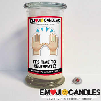 It's Time To Celebrate! - Emoji Candles