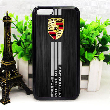 PORSCHE ALUMINIUM BRUSHED PRINTEDM IPHONE 6 | 6 PLUS | 6S | 6S PLUS CASES