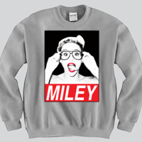 Miley Cyrus Unisex Crewneck Funny and Music