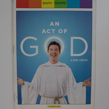 An Act Of God Pride Playbill
