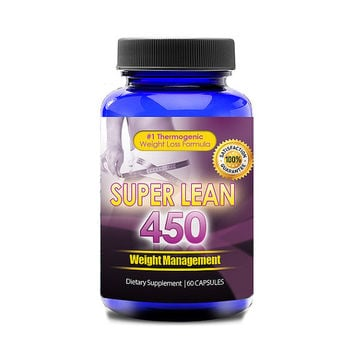 Totally Products Super Lean 450 Appetite & Carb Blocker Suppressant (60 capsules) - provide healthy energy and weight maintenance support