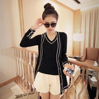 Korean two-piece knit sweater